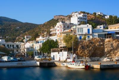 Ikaria, en Grèce