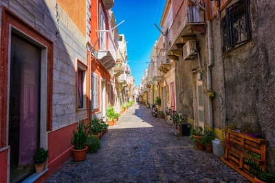 Carloforte, en Sardaigne, Italie