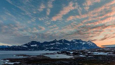 Costa de Blosseville, Groenlândia