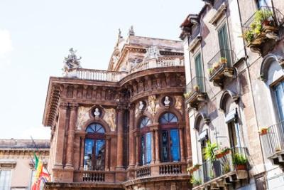 Catania, Sicile, Italie