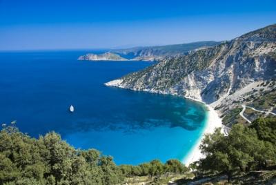 Céphalonie, en Grèce
