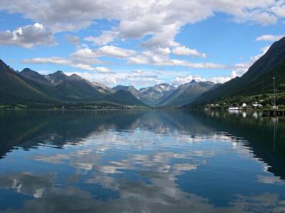 Andalsnes, en Norvège