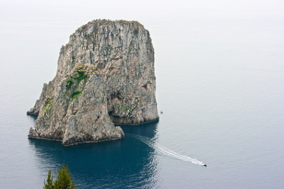 Capri, en Italie