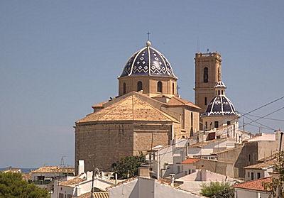 Altéa, en Espagne