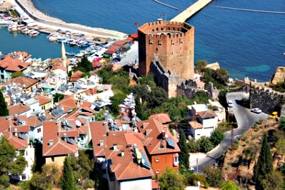 Alanya, en Turquie